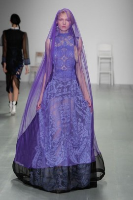 Bora Aksu womenswear, spring/summer 2015, London Fashion Week