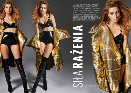 "Fashion Magazine ""Strong Woman"""
